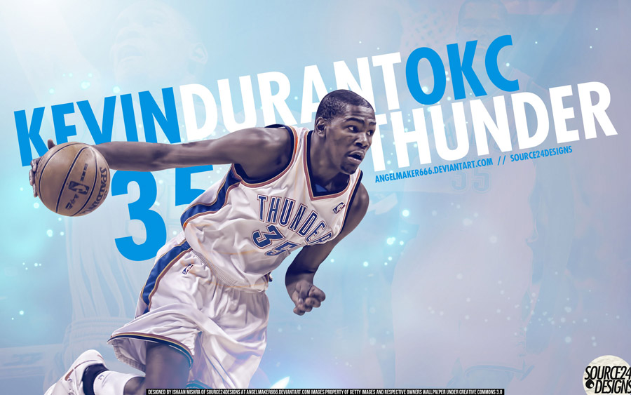 Kevin Durant Thunder 2560x1600 Wallpaper
