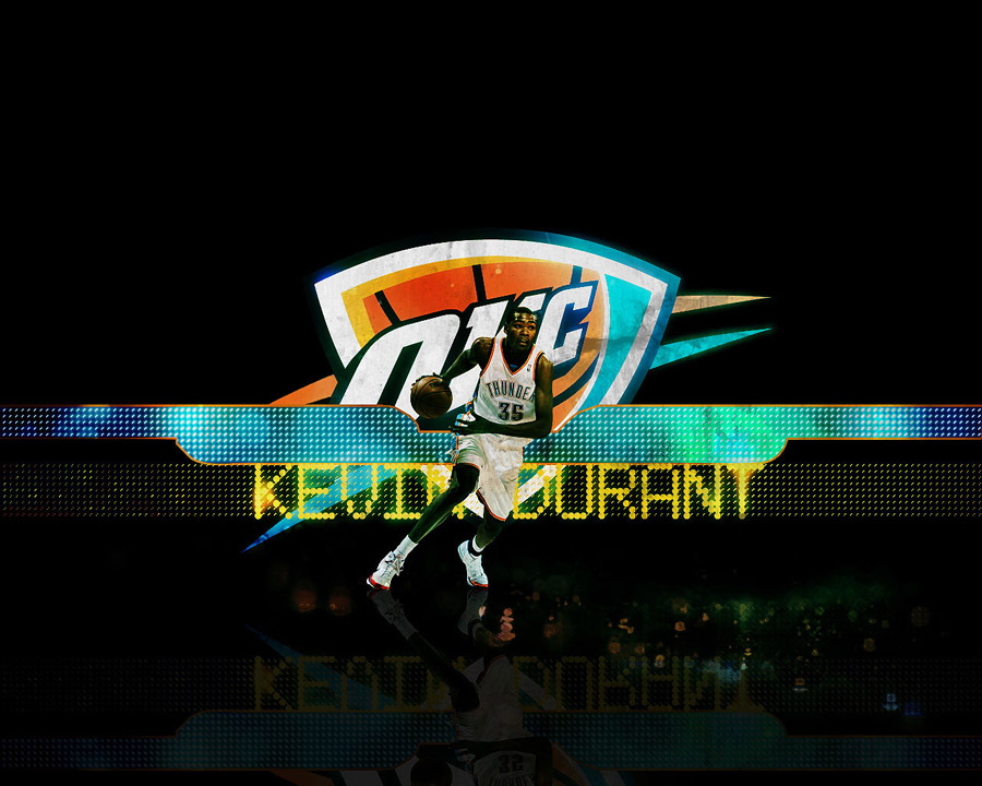Kevin Durant Thunder Wallpaper