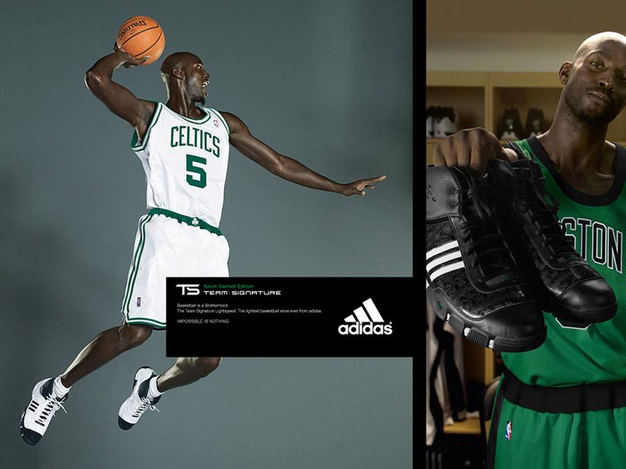 Kevin Garnett Adidas Dunk Wallpaper