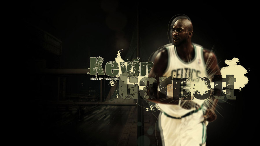 Kevin Garnett Celtics 2011 Widescreen Wallpaper