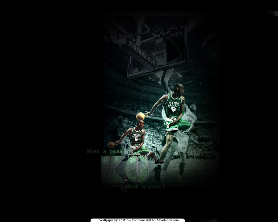 Kevin Garnett Pass Wallpaper