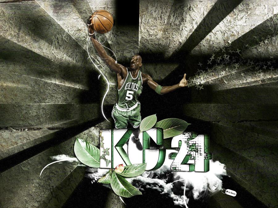 Kevin Garnett Rebound Wallpaper