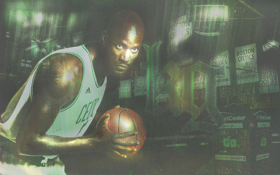 Kevin Garnett Widescreen Wallpaper