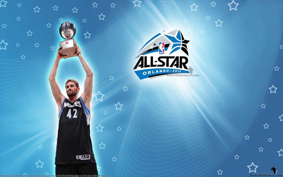 Kevin Love 2012 Three Point Shootout Champion Wallpaper