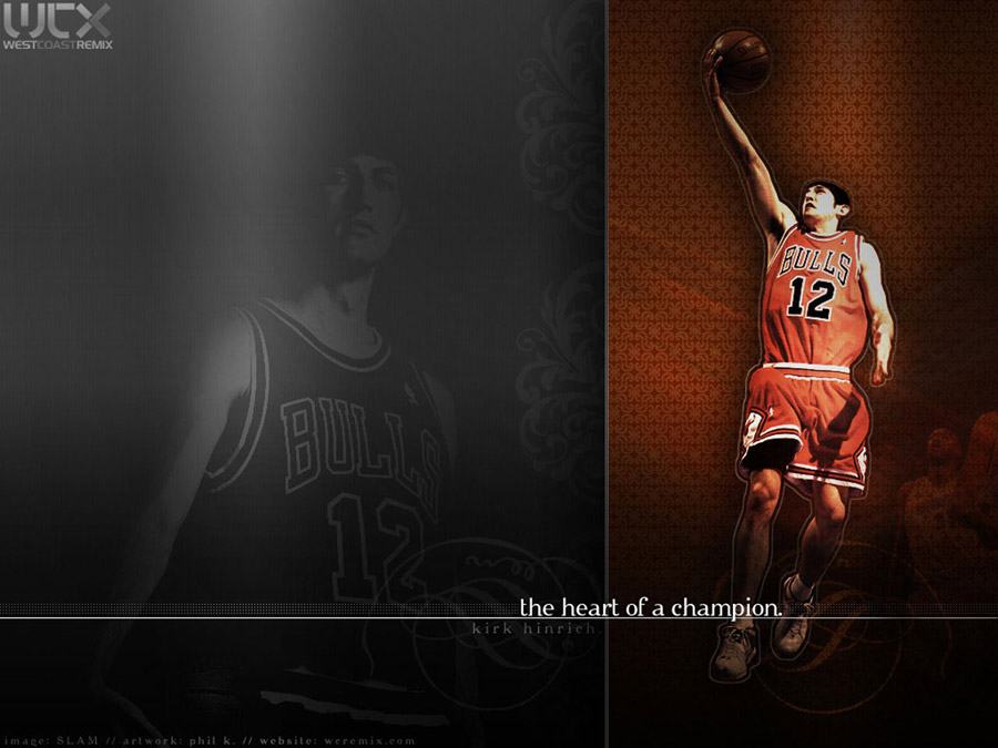 Kirk Hinrich Bulls Layup Wallpaper