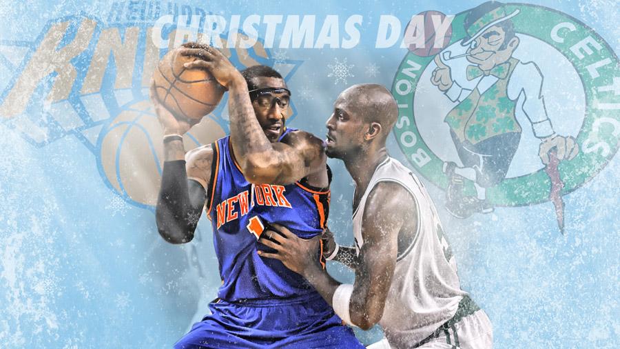 Knicks - Celtics 2011 Christmas Match 1920x1080 Wallpaper