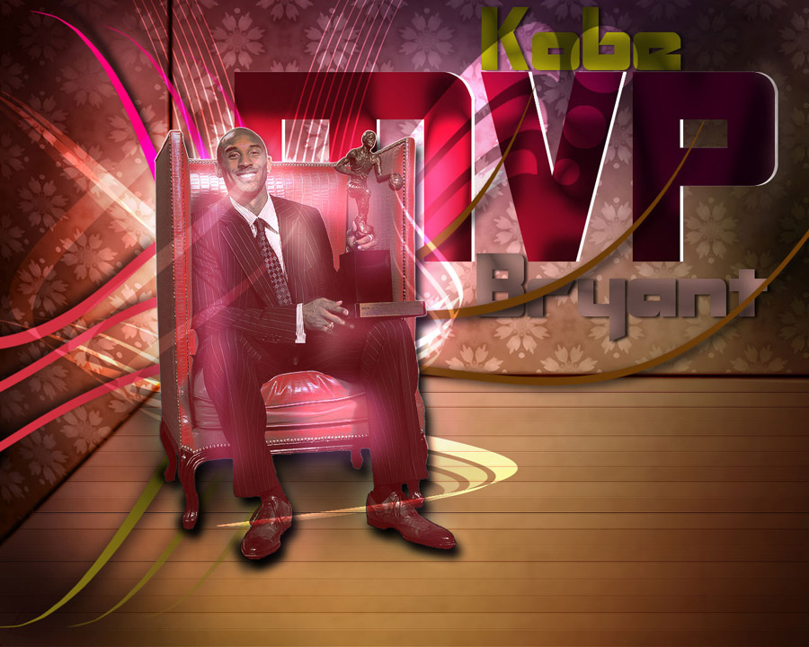Kobe Bryant 2008 MVP Wallpaper