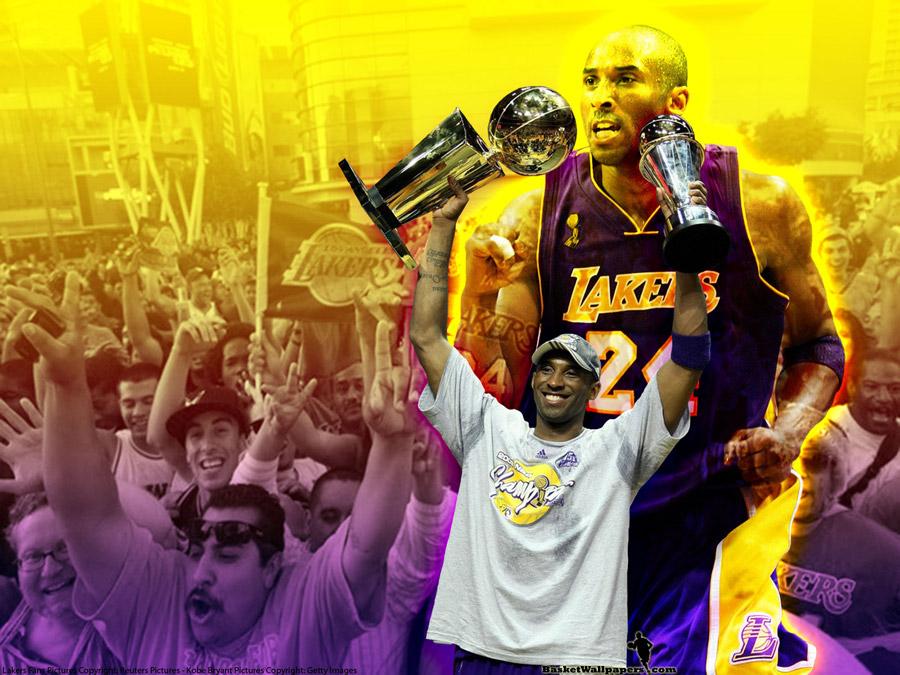 Kobe Bryant 2009 NBA Finals MVP Wallpaper