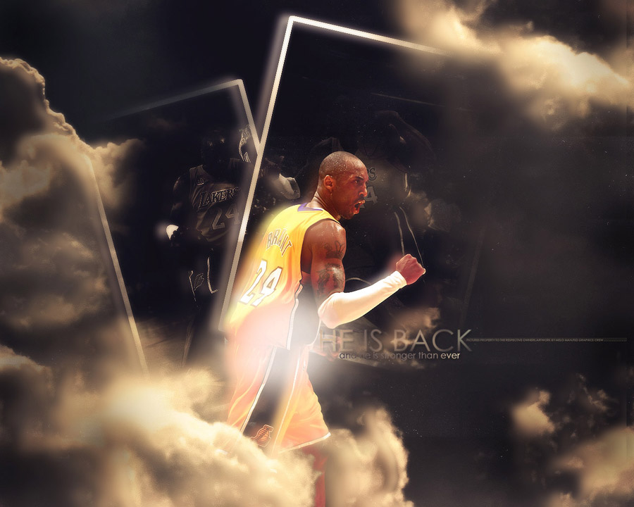 Kobe Bryant 24 Lakers Wallpaper