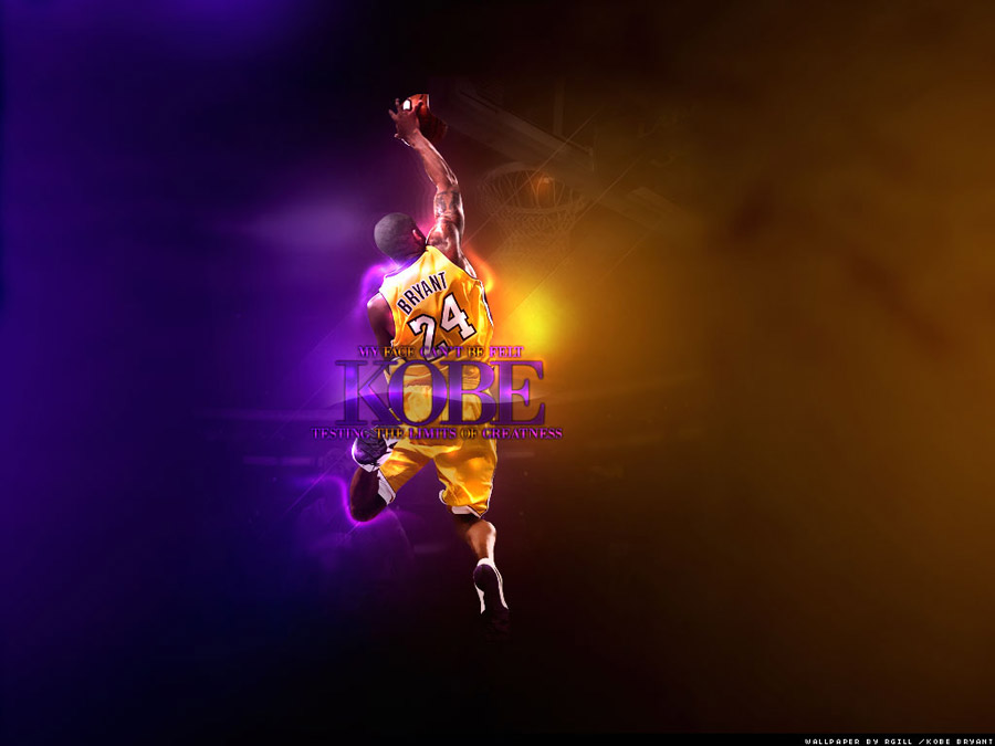 Kobe Bryant Baseline One Handed Dunk Wallpaper