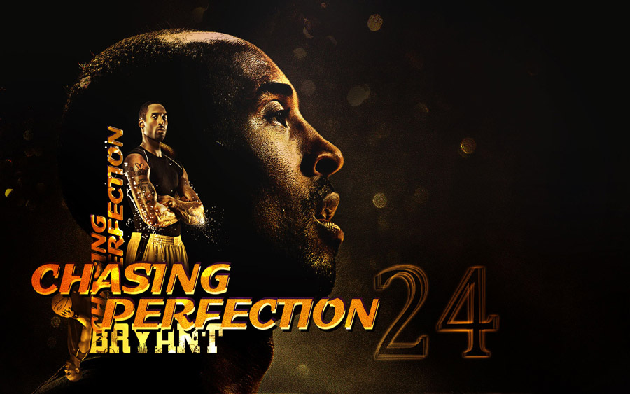 Kobe Bryant Chasing Perfection Widescreen Wallpaper