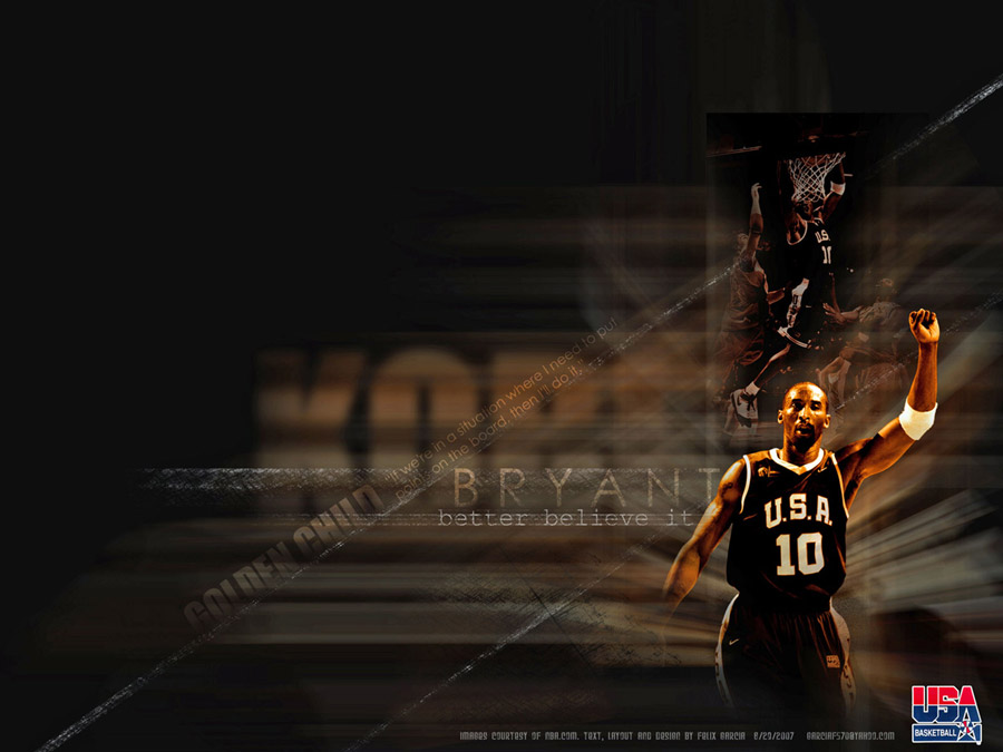 Kobe Bryant Dream Team Wallpaper