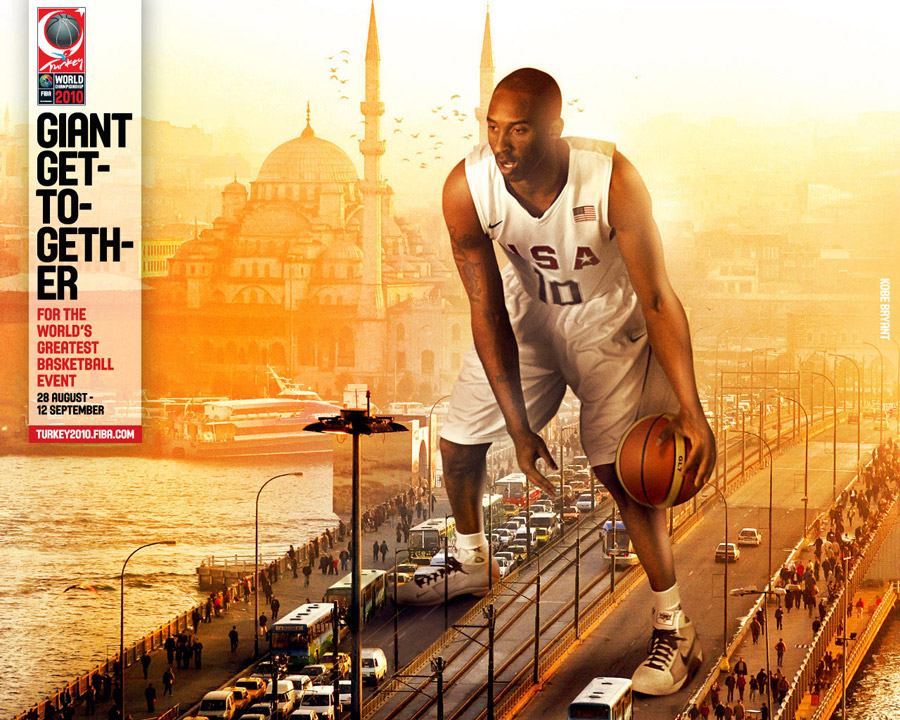 Kobe Bryant FIBA World Championship 2010 Wallpaper