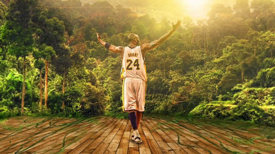 Kobe Bryant Lakers Jungle 1920x1080 Wallpaper