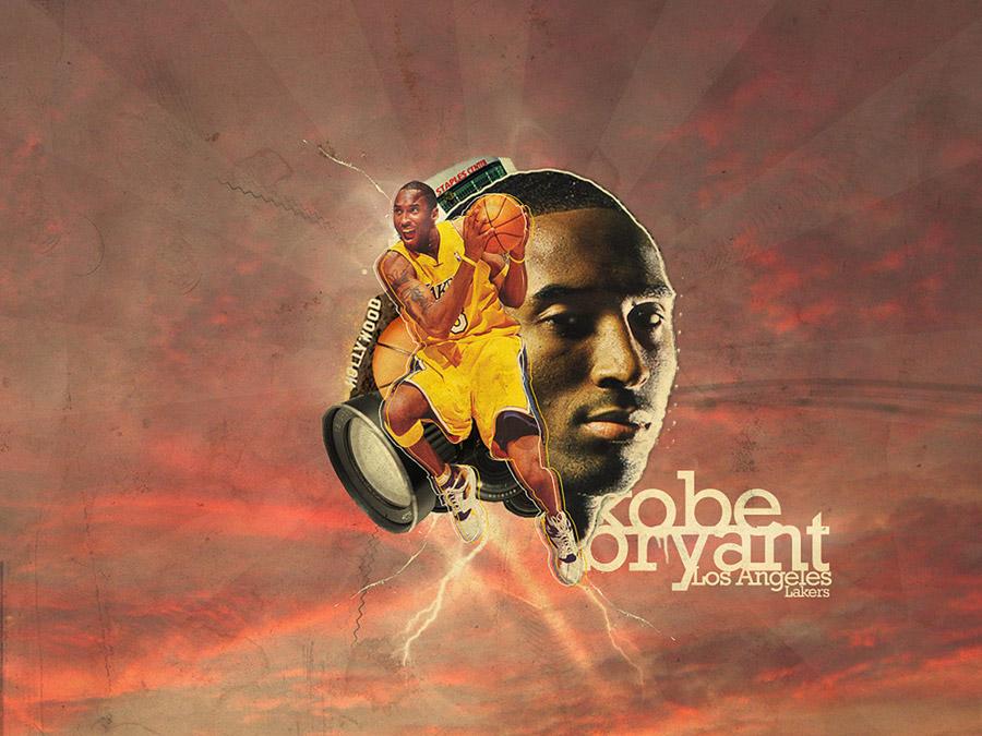 Kobe Bryant Los Angeles Lakers Wallpaper