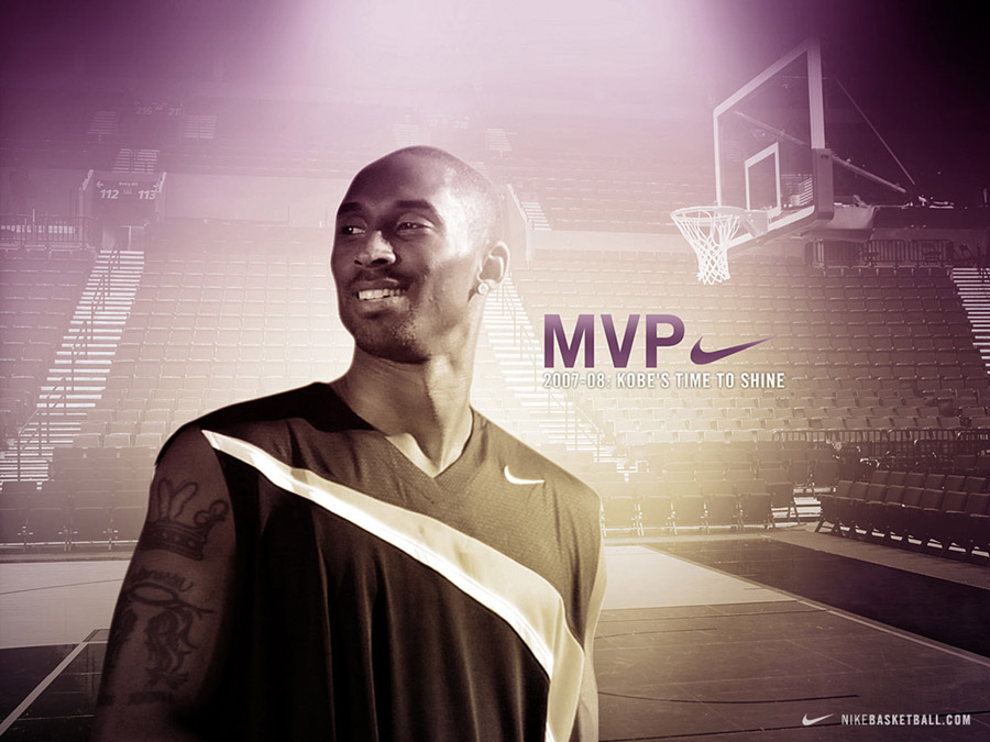 Kobe Bryant MVP NikeBasketball Wallpaper