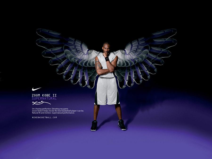 Kobe Bryant Nike Zoom Kobe II Wallpaper