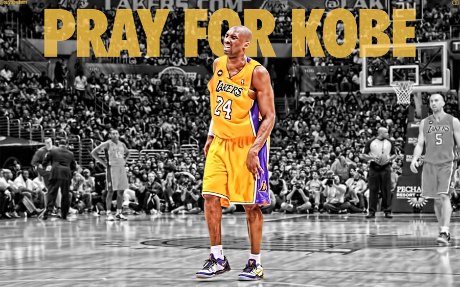 Kobe Bryant Pray For Kobe 1920x1200 Wallpaper