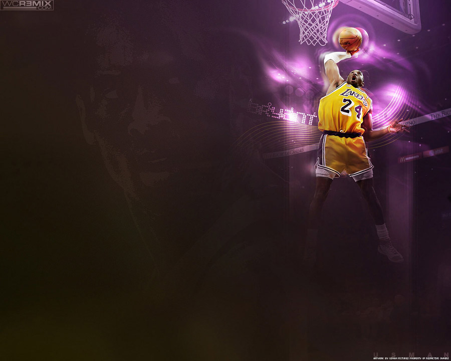 Kobe Bryant Slam Dunk Wallpaper