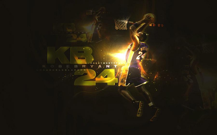 Kobe Bryant Slam Dunk Widescreen Wallpaper