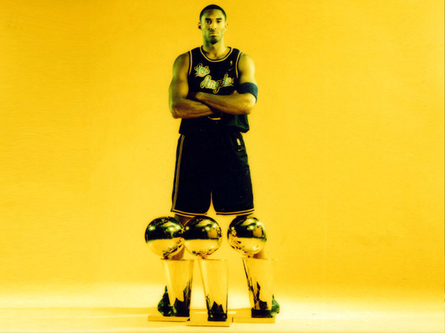 Kobe Bryant Titles Wallpaper