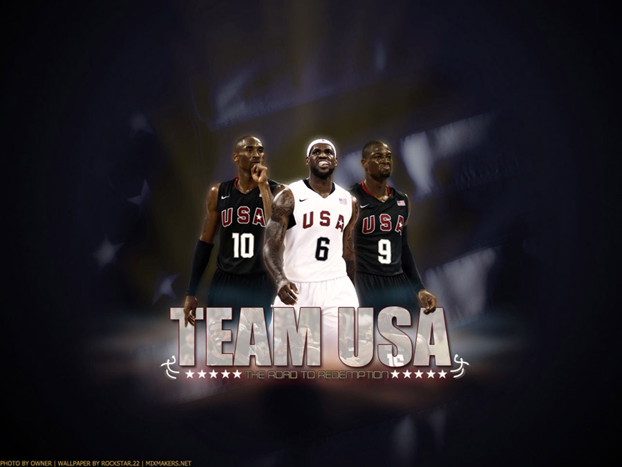 Kobe King Wade Dream Team Wallpaper