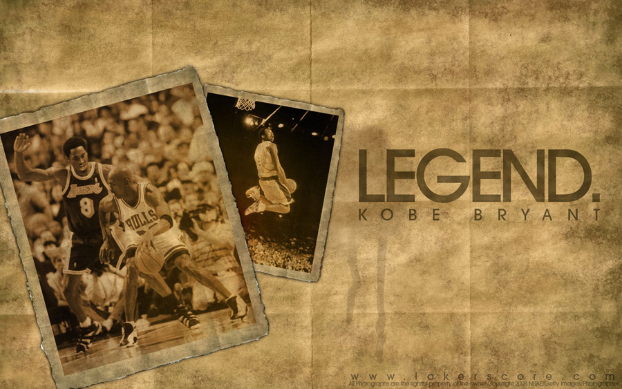 Kobe vs MJ 1998 Widescreen Wallpaper