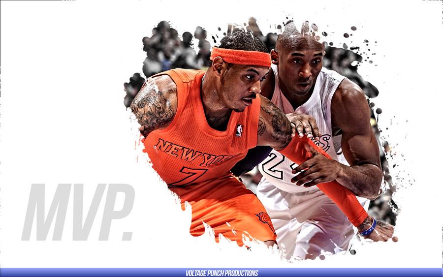 Kobe vs Melo 2013 MVP Race 1440x900 Wallpaper