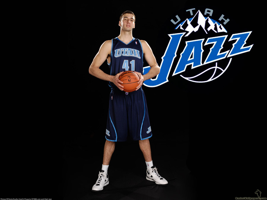 Kosta Koufos Utah Jazz Wallpaper