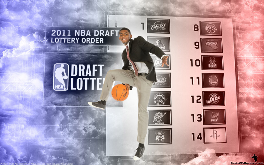 Kyrie Irving 2011 NBA Draft Widescreen Wallpaper