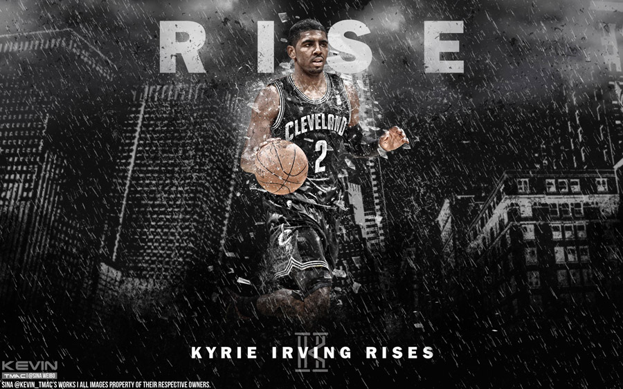 Kyrie Irving Rises 1920x1200 Wallpaper