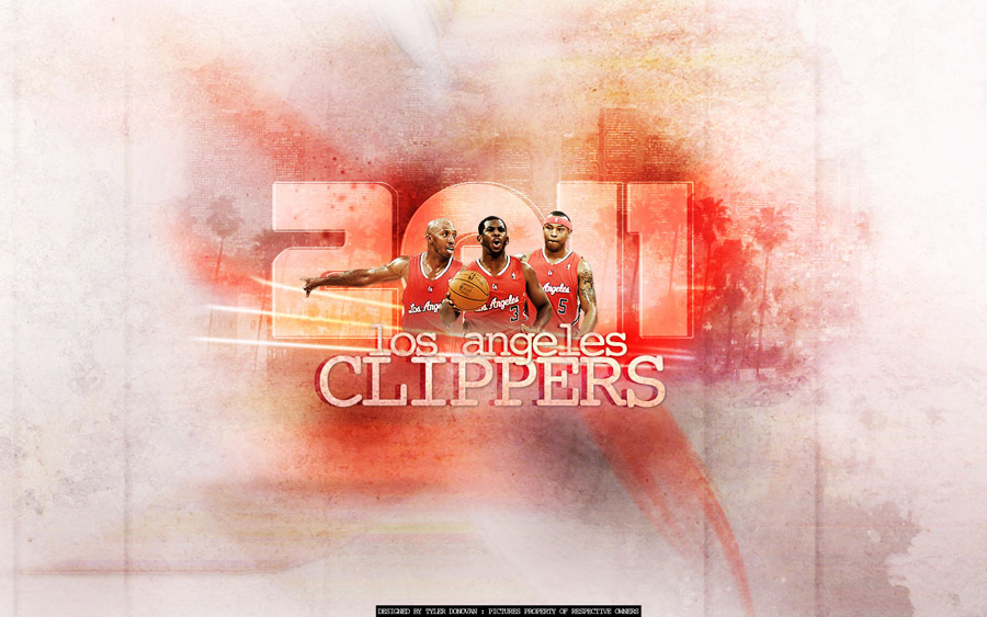 LA Clippers 2012 New Forces Wallpaper