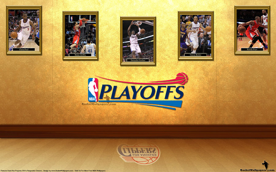 Los Angeles Clippers See You In Playoffs 2012 Wallpaper
