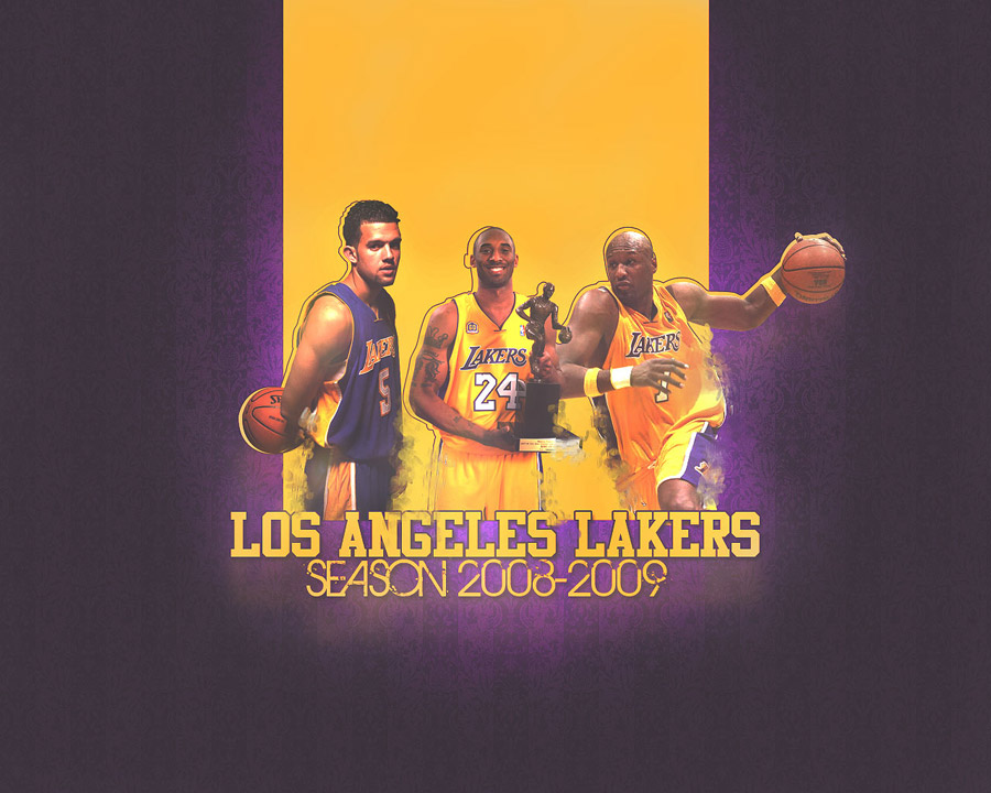 LA Lakers 2008-09 Wallpaper
