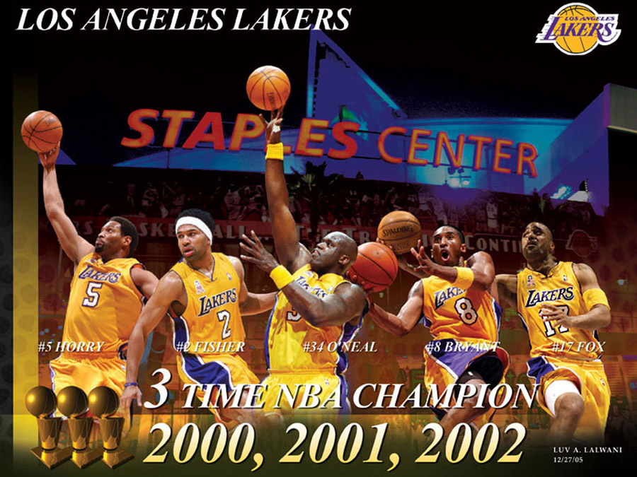 LA Lakers Champions Wallpaper