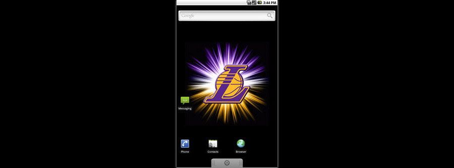 LA Lakers Logo Live Android Wallpaper  Basketball Wallpapers at