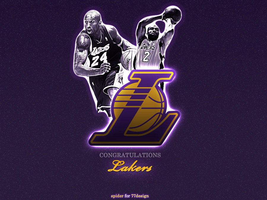Lakers 2009 NBA Champs Wallpaper