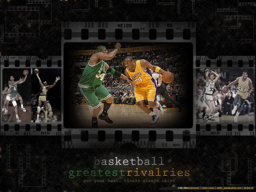 Lakers vs Celtics Rivalry Wallpaper