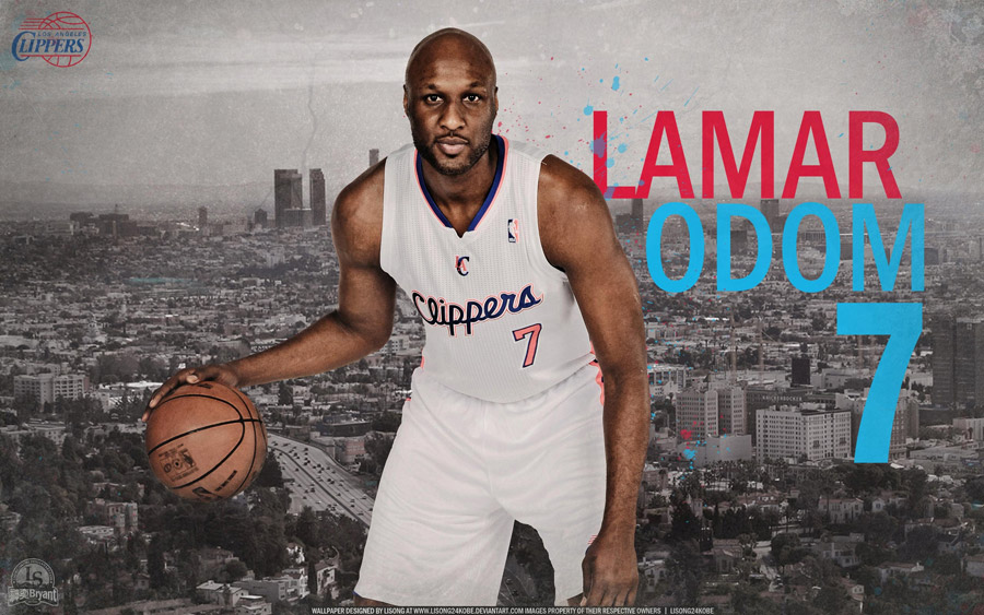 Lamar Odom Clippers 2012 Widescreen Wallpaper