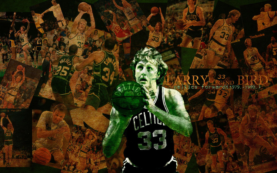 Larry Bird Celtics Legend Widescreen Wallpaper