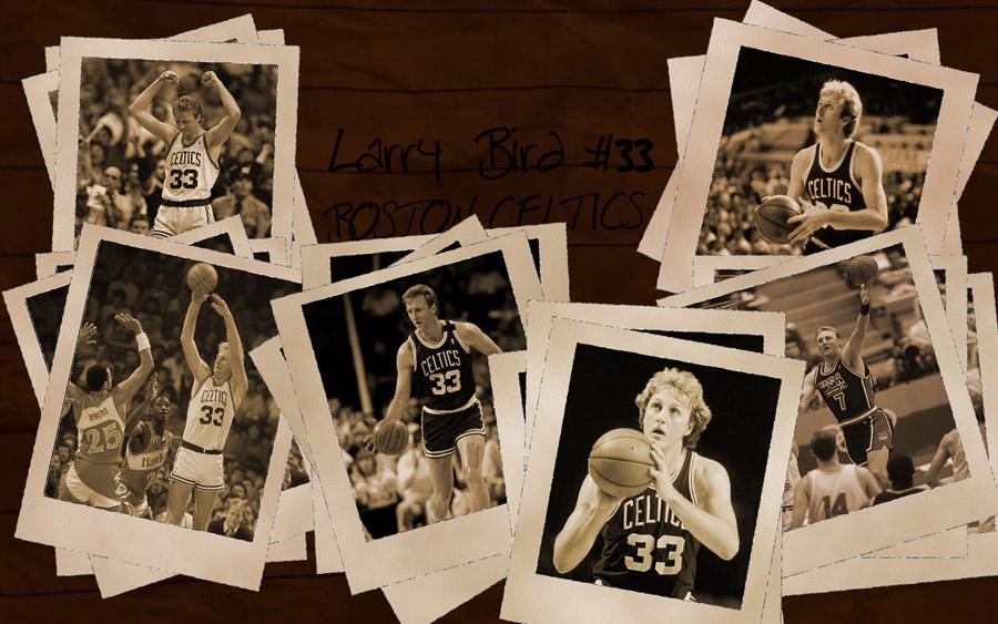 Larry Bird Celtics Widescreen Wallpaper
