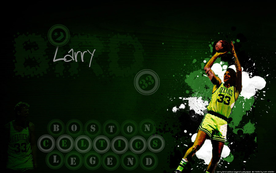 Larry Bird Fade Away Wallpaper
