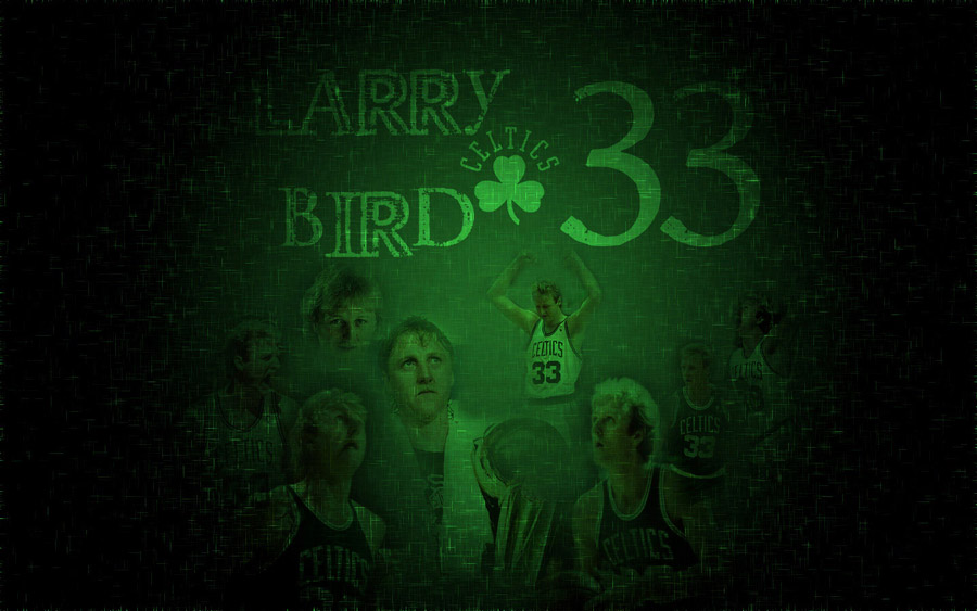 Larry Bird Widescreen Wallpaper