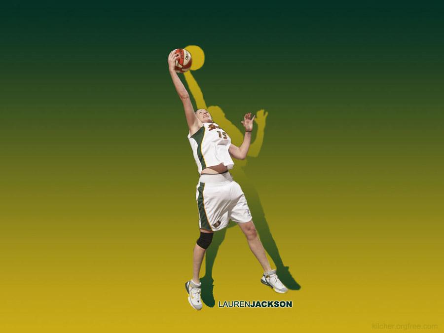 Lauren Jackson Rebound Storm Wallpaper