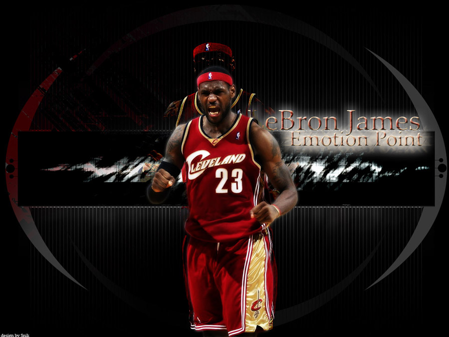 LeBron Emotion Point Wallpaper