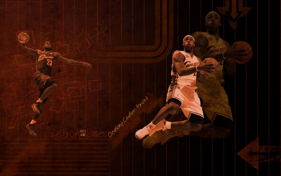 LeBron James 1440x900 Wallpaper