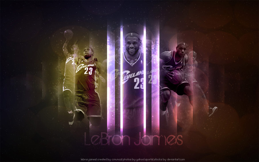 LeBron James Wide Screen Wallpaper