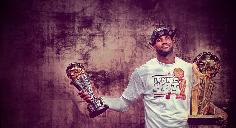 LeBron James 2013 Finals MVP 2560x1440 Wallpaper