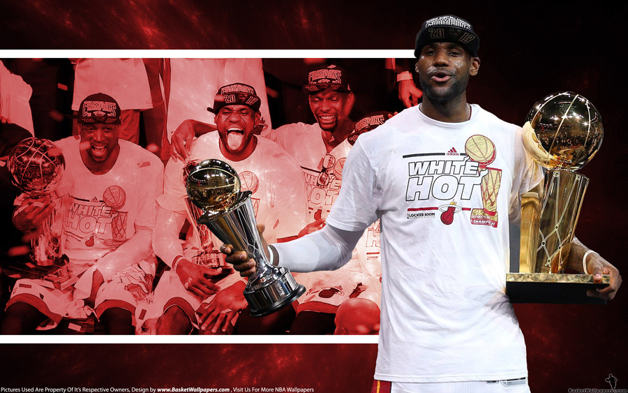 LeBron James 2013 NBA Finals MVP 2560x1600 Wallpaper
