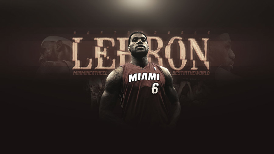 LeBron James Miami Heat 1600x900 Widescreen Wallpaper